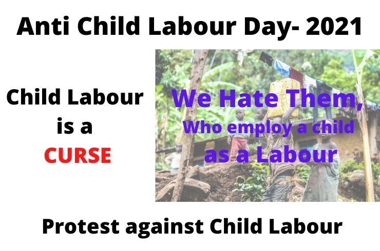 anti child labour day 2021